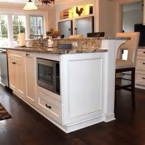 Kitchen Islands And Breakfast Bars Kitchen Island With Raised Bar Like The Raised Breakfast Bar On A Kitchen Island In My