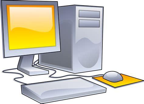 clipart computer desktop computer