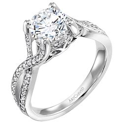 wins 15 000 artcarved engagement ring at amazing