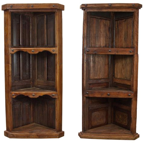 Wood Corner Bookcase Corner Bookcase Wood Wood Corner Bookcase Rustic Western Solid Wood Free Shipping Dakota