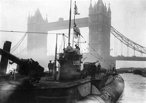 u boat war ww1 world war 1 german u boats in london grcade