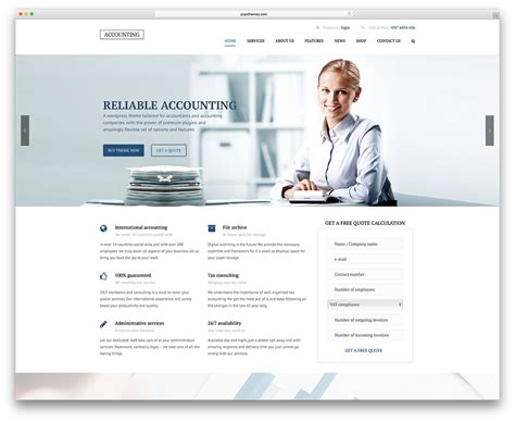 Simple Template Website by 20 Best Financial Company Themes 2018 Colorlib
