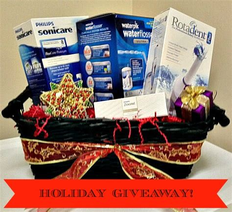 Dental Office Giveaways - dr judy huey patient appreciation holiday gift basket giveaway