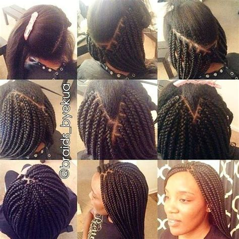 box braids pattern learn how to box braid quick how to tutorial box