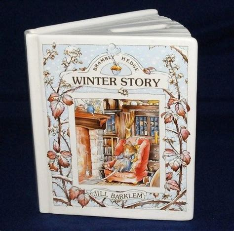 winter story brambly hedge books brambly hedge royal doulton book shaped money box winter
