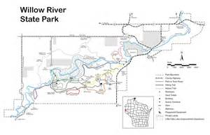 Willow River State Park Map by Willow River State Park Maplets