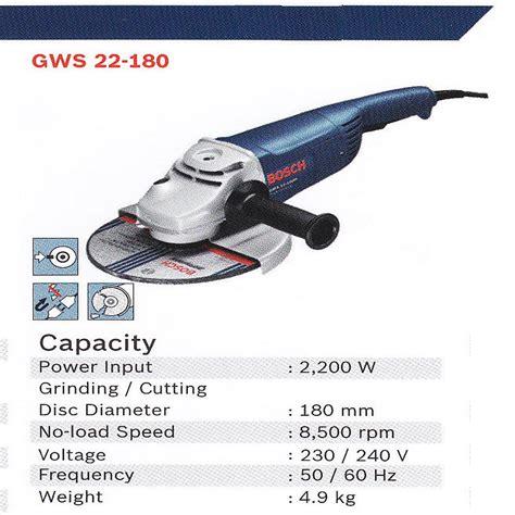 Makita Ga9020 Mesin Gerinda Tangan 9 Angle Grinder Ga 9020 harga jual bosch gws 22 180 mesin gerinda tangan professional