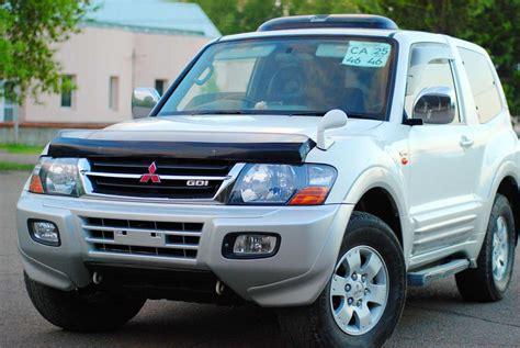 mitsubishi pajero 1999 1999 mitsubishi pajero photos 3 5 gasoline automatic