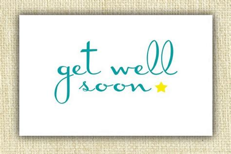 Free Template Get Well Card by Get Well Soon Card Template Free The Best Resume
