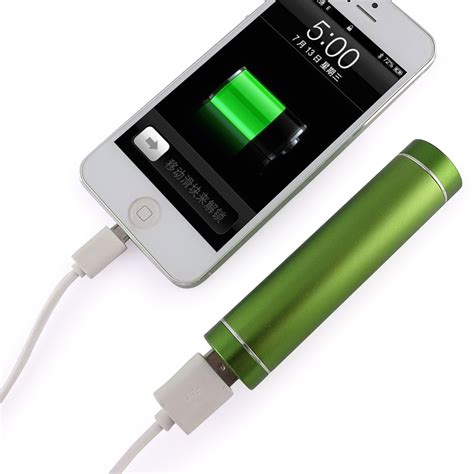 Usbcell Batteries For Cell Phones Charge Via Usb Connector by Light Green Portable Usb Cell Phone Charger Power Bank