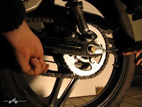 Motorrad Anderes Ritzel by Http Www Ybrfreun De Kette Am Motorrad Schmieren