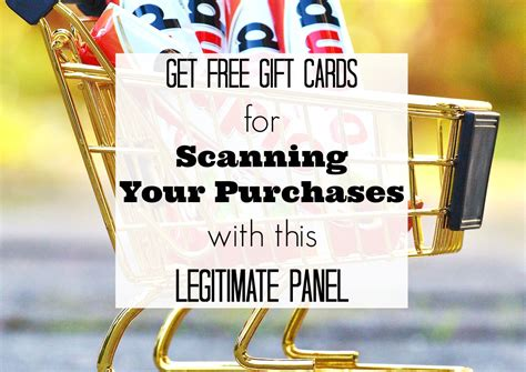 How To Scan Gift Cards - national consumer panel review get free gift cards to scan your purchases crowd