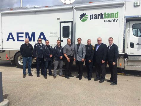 Lu Emergency Portable parkland county has a new portable emergency operation