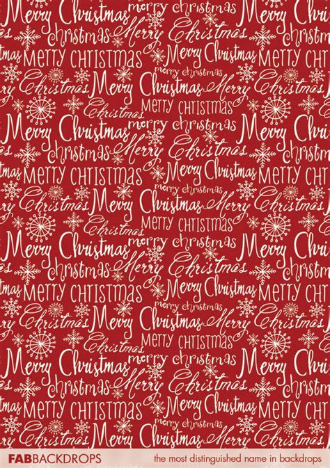 A Merry Fab by Fab Cloth Merry Backdrop In