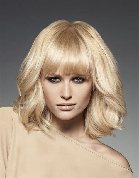 blonde hairstyles uk a medium blonde hairstyle from the winter 2013 2014