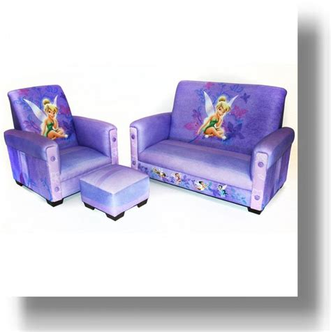 Tinkerbell Recliner With Footstool And Matching Sofa