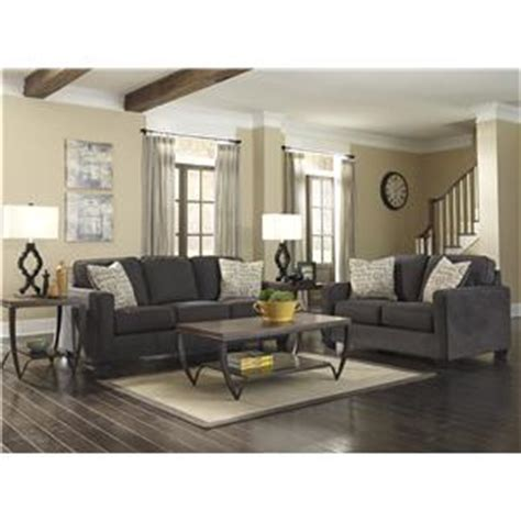 alenya charcoal queen sofa sleeper signature design by ashley alenya charcoal 1660139