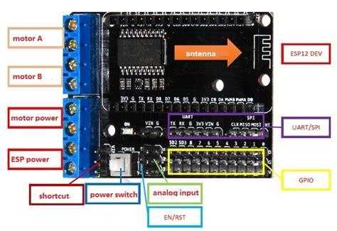 Berkualitas Nodemcu Lua Amica Cp2102 Esp8266 Ai Wifi Development Board esp8266 develop kit nodemcu board motor shield from