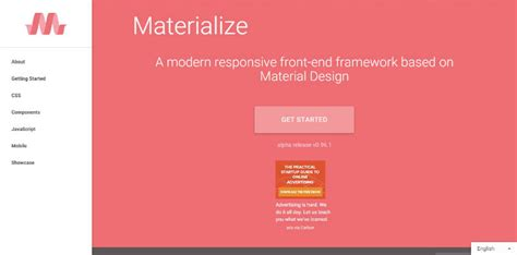 bottom responsive html bootstrap and materializecss top 5 material design frameworks to use in 2015 design