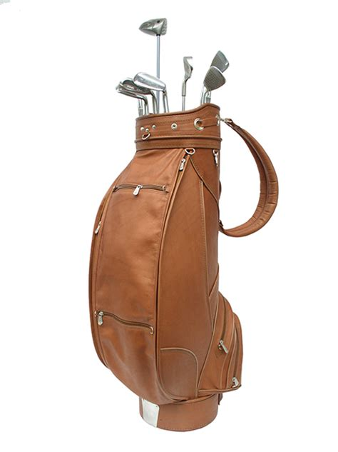 Handmade Leather Golf Bags - leather golf bags golf bags golf travel bags