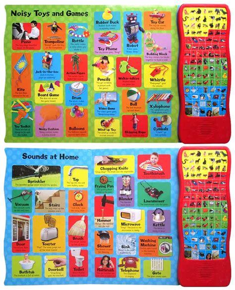 My Noisy Words Tiny Tots Sound Board Book Buku Impor Anak 100 sounds words limited stocks