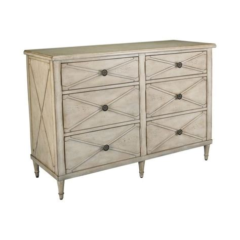 Accent Chest With Drawers by Hammary Treasures 3 Drawer Mirror Chest