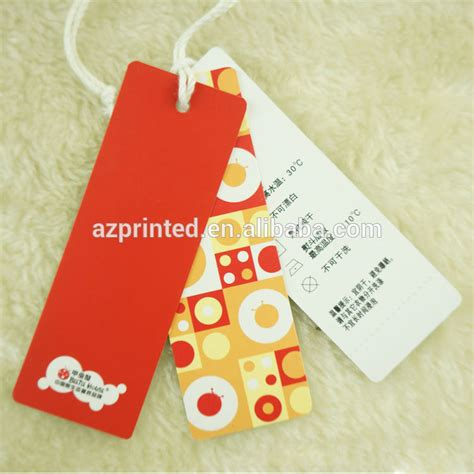 garment swing tags clothing swing tags and labels garment paper tags logo