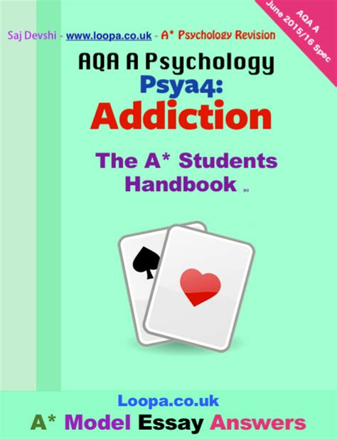 Psya4 Addiction Essays by Saj Devshi On Gumroad