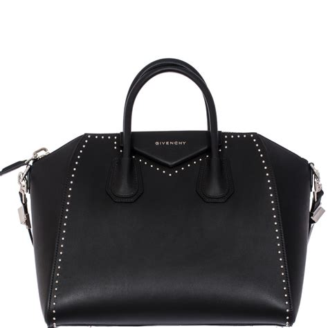 Givenchy Studded Shopper 2 by Givenchy Antigona Medium Studded Tote In Black Lyst
