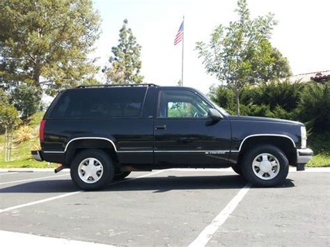 1999 2 Door Tahoe by Sell Used 1999 Chevrolet Tahoe Lt Sport Utility 2 Door 5