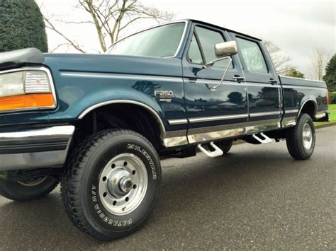 how does cars work 1995 ford f350 seat position control 1997 ford f 250 crew cab 4x4 xlt short box power stroke 7 3l turbo diesel