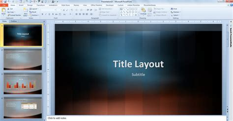 Free Vertical Lexicon Design Template For Powerpoint 2013 Design Templates For Powerpoint 2013