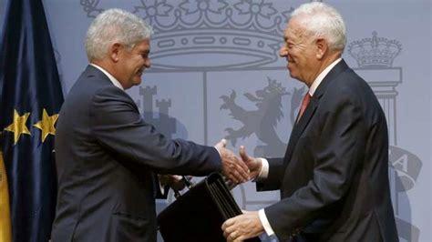 E J Gallo Mba by Embajadores Y Diplom 225 Ticos Despiden A Garc 237 A Margallo