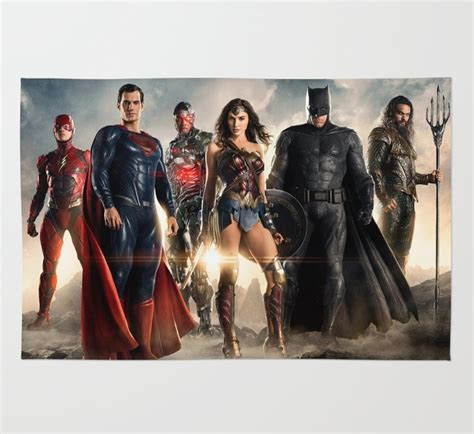 Justice League Area Rug Justice League Promo Area Rug Sheets