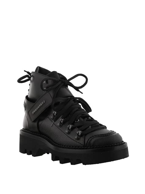 Dsquared2 Ankle Boots dsquared2 leather hiking style ankle boots ankle boots