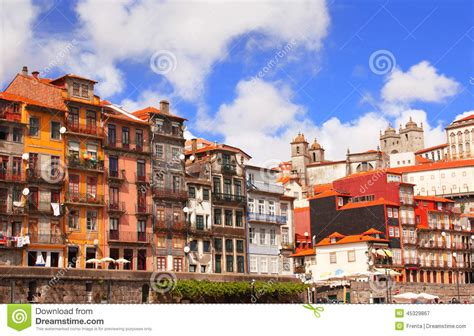 houses to buy in portugal old houses in porto portugal stock photo image 45329867