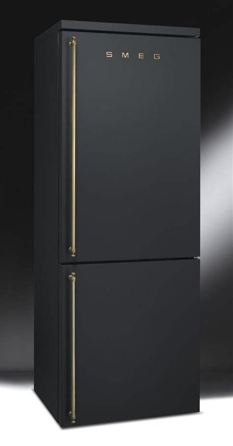 matte appliances matte black fridge by smeg smeg is an italian home