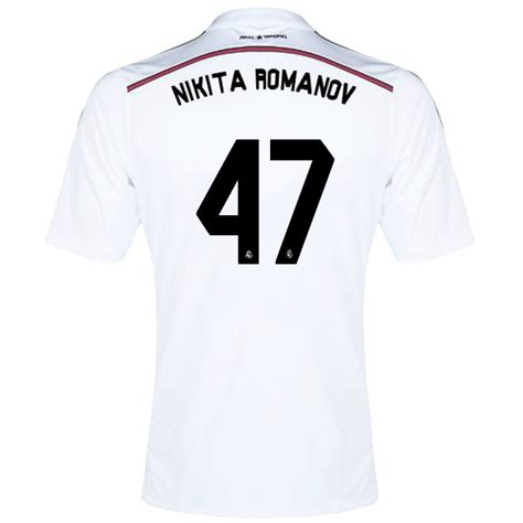 design jersey real madrid design your own real madrid soccer jersey nikita romanov 47