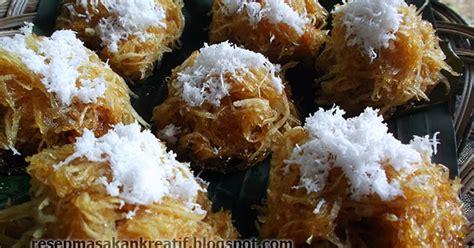 resep sawut singkong kukus gula merah aneka resep