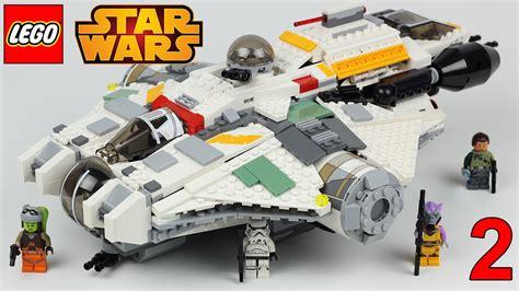 wars rebels lego lego wars rebels the ghost 75053 teil 2 lego