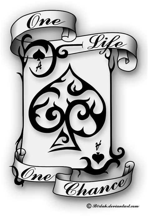 deviantart tattoo designs the gallery for gt ace of spades card designs