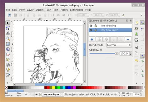 inkscape tutorial line art tutorial how to make colour vector illustrations from