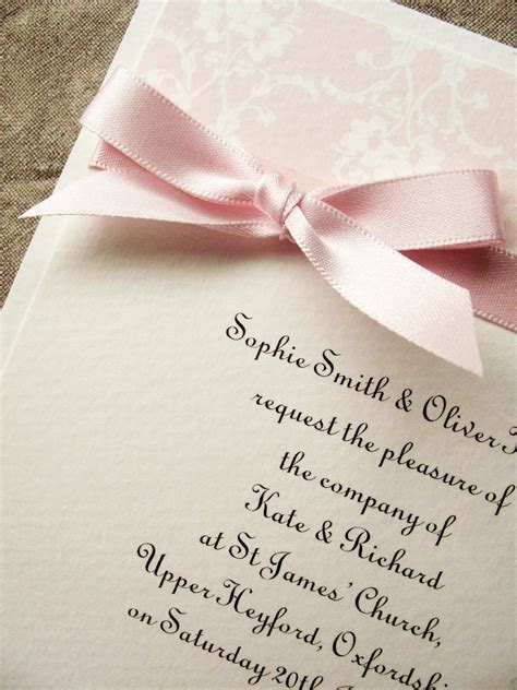 inspiration for weddings invitations and stationery july 2012 - Pale Pink Wedding Invitations