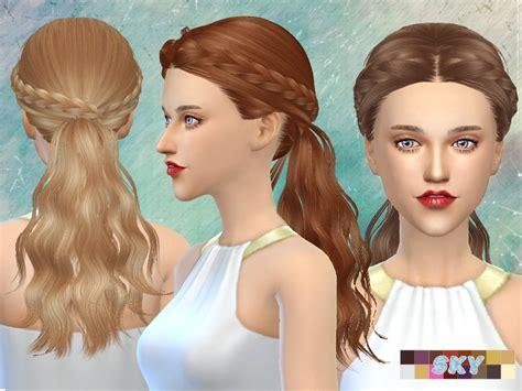 hair 217 by skysims sims 3 downloads cc caboodle skysims hair 270 tina