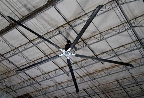 used big fan industrial hvls ceiling fans from serco