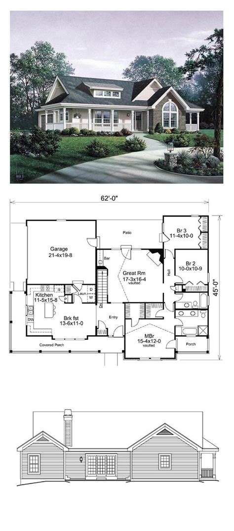 country living floor plans country house plans picmia