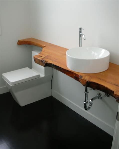 woodmode bathroom vanities mode concrete modern bathroom with black stained concrete