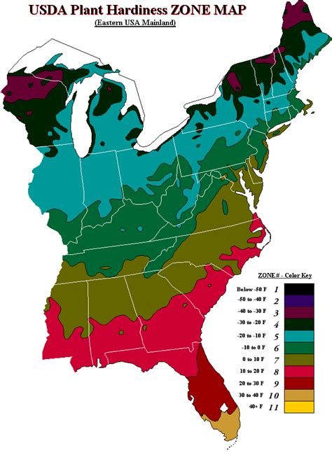 usda map usda hardiness zone map