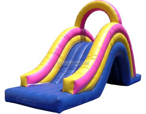 water slide bounce house bouncerland inflatable water slide 2062