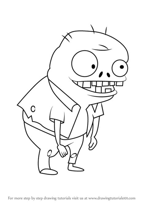 learn how to draw imp from plants vs zombies plants vs